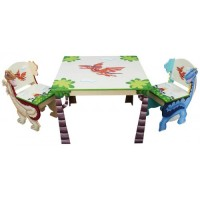 Teamson Dinosaur Table & 2 Chair Set