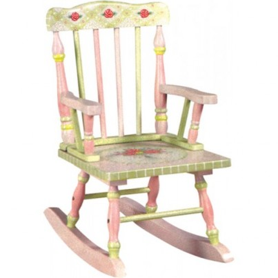 Teamson Crackle Finish Rocking Chair