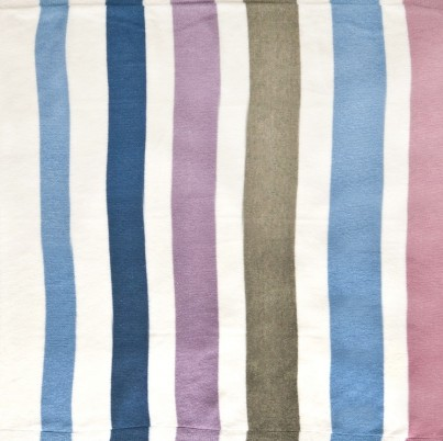 Swatch of our Large Lambswool Striped blanket