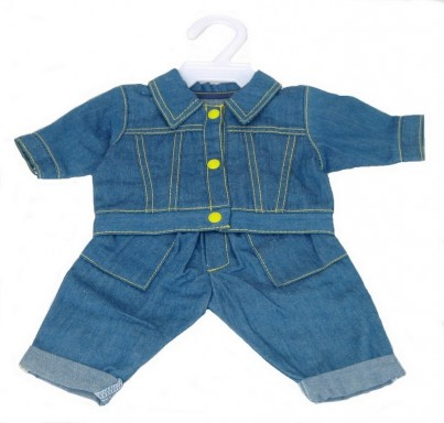 Boy Doll Clothes: Denim Clothes Set