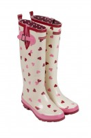 Adult Heart Wellies