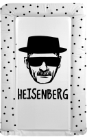 BREAKING BAD  themed changing mat -  Heisenberg