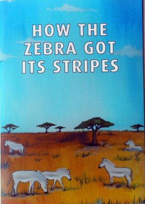 Illustrated Story Book included with Ziggy Zebra Chair