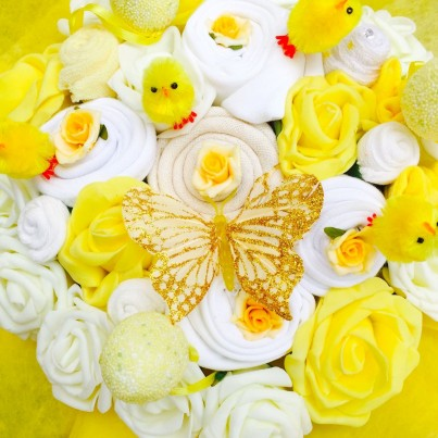 Easter Delight Baby Clothing Bouquet - 0-3, 3-6 or 6-9 months