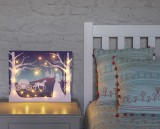 Personalised 'Cinderella' Design Illuminated Canvas