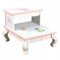 Teamson Princess & Frog Step Stool