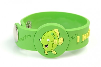 """I Have A Fish Allergy"" Awareness wristband"