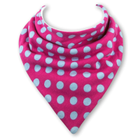 Baby dribble bib by Babble Bib Bubblegum