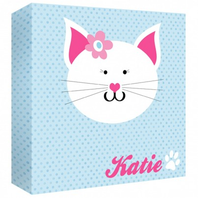 Kitten Personalised Canvas