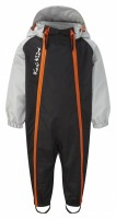 Early Years Waterproof All-in-One Black/Grey/Orange