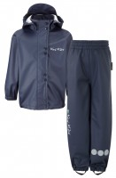 PU Essential Rain Set Unlined Navy Blue