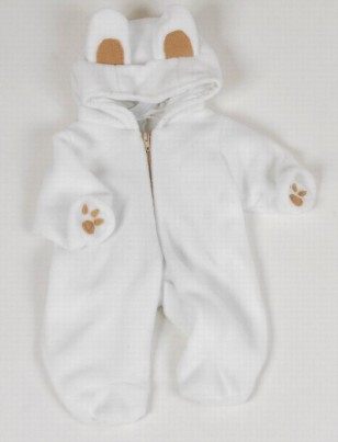 Dolls Fleese Snowsuit