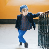 BOYS TROUSERS IN ROYAL BLUE