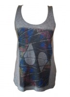 Women's Graffiti Wall Vest Top
