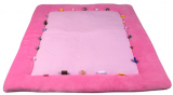 Playing Cloth - Cheerful Playing (85x105cm) Blossom Pink
