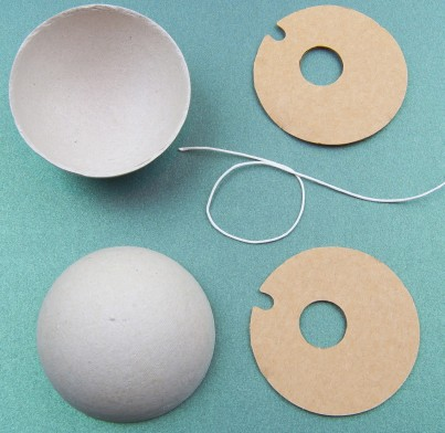 The components required to make one Ball