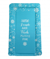 Disney FROZEN themed baby changing mat in blue -  IDEAL BABY SHOWER GIFT