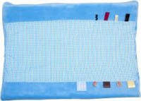 Organic Happy Days Changing Mat Cover-Dolphin Blue