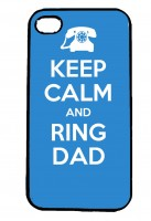 Keep Calm and Ring Dad IPhone Case Will Fit iPhone 4, 4s & 5