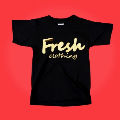 "BUY FRESH CLOTHING'S ""GOLD"" KIDS TEE"