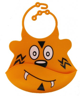 Catch All Baby and Toddler Bib - Travis Tiger