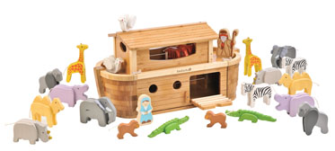 Everearth Giant Noahs Ark with animals and Figures