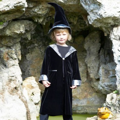 Wizard with Crooked hat