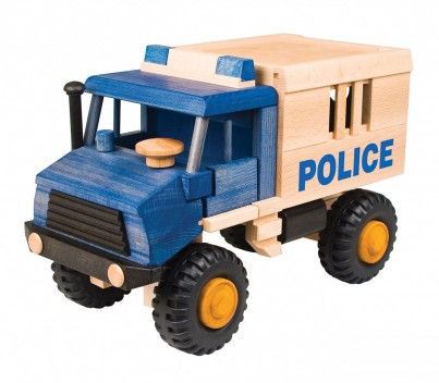 Uniwood Police Truck 2 of 2 part set