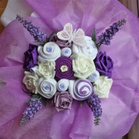 Lavender Delight Baby Bouquet - Deluxe in 0-3 or 3-6 months