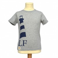 Monkstone Tee in Grey Marl