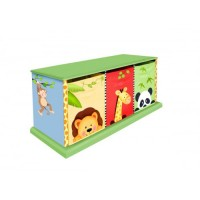 Teamson Sunny Safari 3 Bag Storage Cabinet
