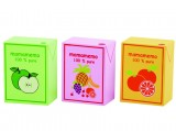 Wooden Juice Blocks (3 pieces)