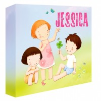 Springtime Personalised Canvas