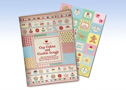 Cup Cakes and Cookie dough baking book