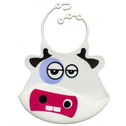 Catch All Baby and Toddler Bib - Chloe Cow
