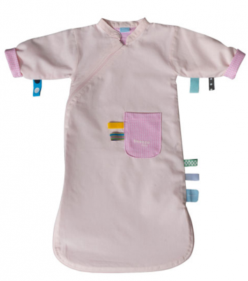 Sleepsuit girl 0-3 months Blossom Pink