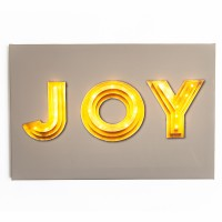 Joy - Large - Illuminated Canvas