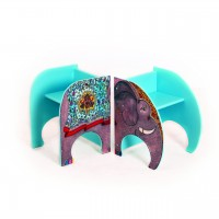 Zawadi the Elephant Twin Chairs + Story Book
