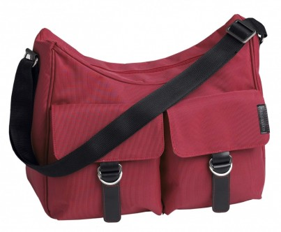 CITY HOBO SHOULDER BAG - RASPBERRY