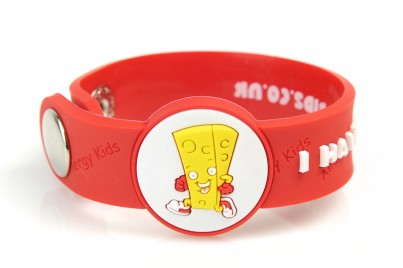 """I Have A Dairy Allergy"" Awareness wristband"