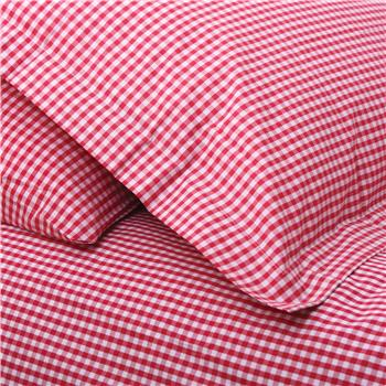 Babyface Red Gingham Junior Duvet Set
