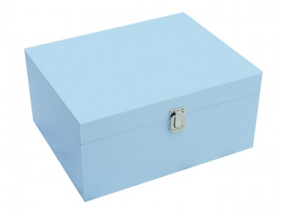 Large Storage Box in Blue