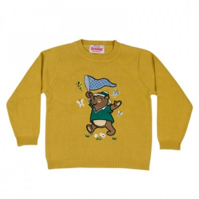 """Benny The Bear"" knitted kids jumper"