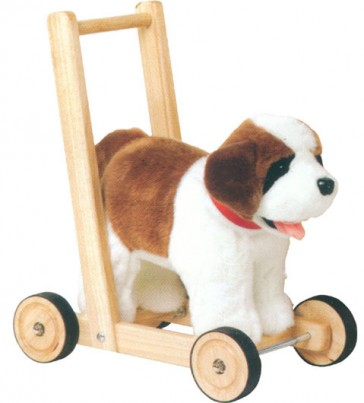 St Bernard Push Along Traditional Baby Walker
