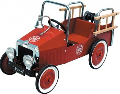 Jalopy Fire Tuck Pedal Car
