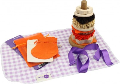 The Mini Marmalade Stacking Hoops with Sorting Bags, Activity Card and Collection Bag.