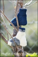 MERINO WOOL SOCKS NAVY BLUE