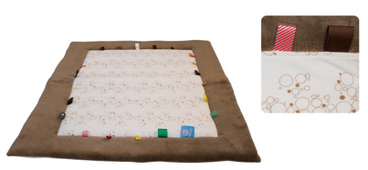 Playing Cloth - Cheerful Playing (85x105cm) Camel Bubbles