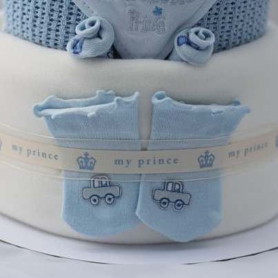 Luxury 3 Tier 'Little Prince' Nappy Cake