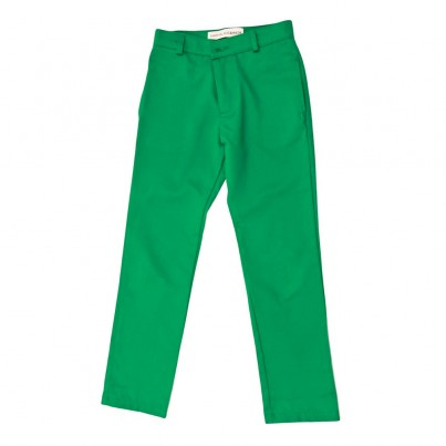BOYS GREEN TROUSERS